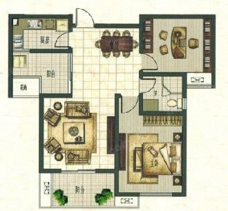 設計圖分享 411自建房設計圖  新農村自建房7 寬612×459高