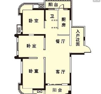 两房一厅地基设计图展示